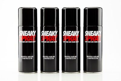 Sneaky Spray shoe protector - 4 PACK - protect your trainers, shoes, and creps