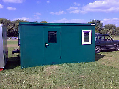 NEW Portable Office Cabin 14ft Collapsible Flatpacked £3320.00+vat