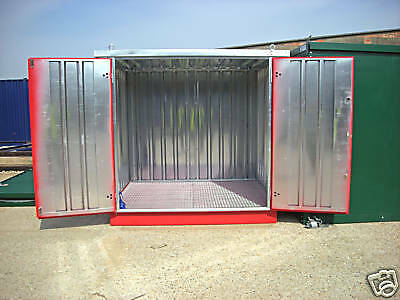 8ft Flatpacked Chemical Storage Container, 2.3m Store