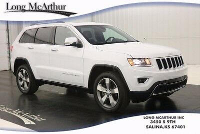 2016 Jeep Grand Cherokee LIMITED 4WD 8 SPEED AUTOMATIC SUV INTELLIGENT ACCESS REMOTE START BLUETOOTH SATELLITE RADIO REAR VIEW CAMERA