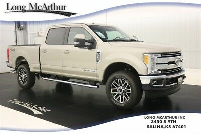 2017 Ford F-250 LARIAT 4X4 CREW CAB SUPER DUTY NAV MSRP $70954 REMOTE START ULTIMATE TRAILER TOW CAMERA RHINO LINER FX4 OFF ROAD PACKAGE