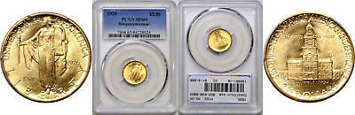 1926 Sesquicentennial $2 1/2 Gold Commemorative PCGS MS-65