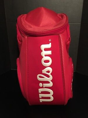 Red Wilson Tour 2014 Limited Edition Tennis Racquet Backpack