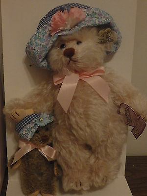Annette Funicello Mohair Bear Patti & Kate Special Collection #1370 of 2500! NIB