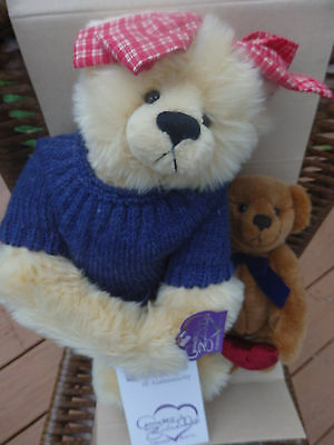 Annette Funicello My Heart Belongs To You Plush Bears NIB! #1027 1st Year!