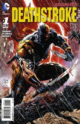Deathstroke #1 2014 Dc New 52 Near Mint
