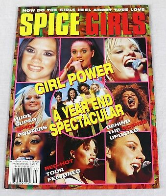 Spice Girls Fanzine Magazine June 1998 Posters Pinups Profiles Mega Rare OOP New