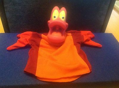 Sebastian The Red Crab hand puppet - The little mermaid - Disney - NEW SEALED