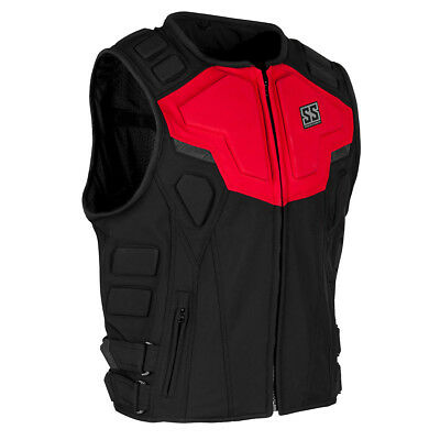 Speed & Strength Critical Mass Armored Vest Red