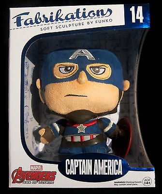 CAPTAIN AMERICA - Soft / Plush Figure - Funko - Fabrikations (Marvel Avengers)