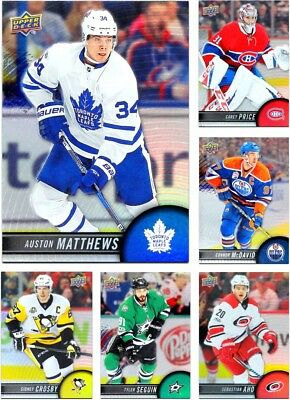 2017-18 Tim Hortons **** PICK YOUR CARD **** From The BASE SET