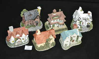 ThriftCHI ~ 6 1987 Liberty Falls, Museum Collection Miniature Building Figurines