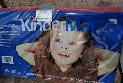 kindermat lot of 4 new in package kinder mat made in U.S.A. soft plastic bed