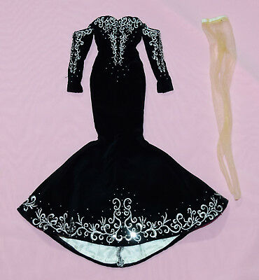 """Tonner 16"""" Daphne Dimples Black And White Ball Outfit Fits Tyler Syd Brenda Star"""