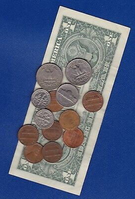 US DOLLAR Banknote Series 2013 & varied Coins - for Travellers or Collectors