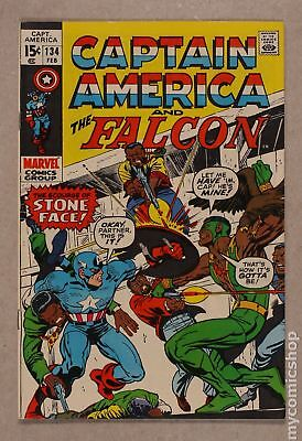 Captain America (1968 1st Series) #134 FN+ 6.5