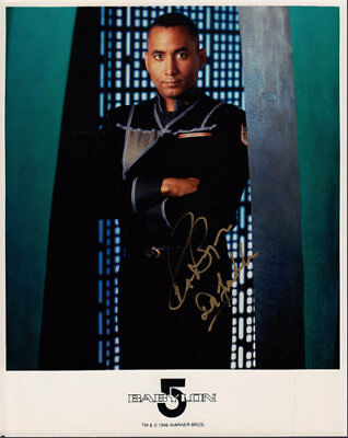 Richard Biggs SIGNED/AUTOGRAPHED Babylon 5 Promo 8x10 Photo - Dr Steven Franklin