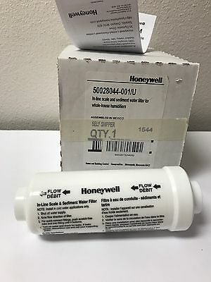 Honeywell 50028044-001 In-Line Scale Sediment Water Filter Whole House