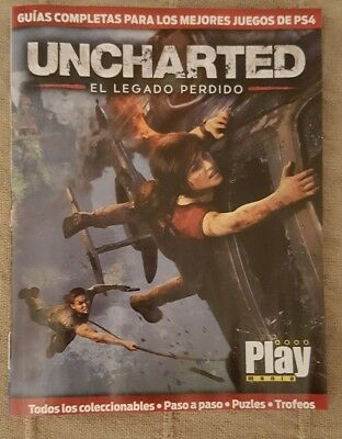 Guia Uncharted: El legado perdido Playmania PS4