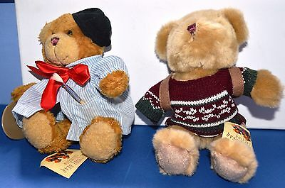 THE TEDDY COLLECTION-HENRY the HIKER & ALPHONSE the ARTIST Tagged