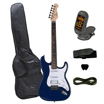 Artist STH Navy Blue Electric Guitar + Humbucker + Amp - New