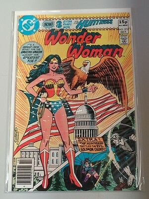 Wonder Woman #272 Dc Comics October 1980
