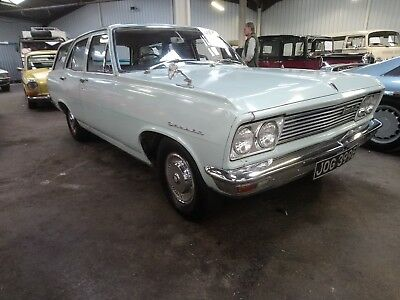 1967 Vauxhall Cresta PC Estate Oyster grey with red trim, one previous owner