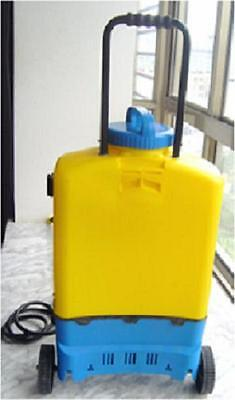 Kobold Window cleaning multi speed backpack with handle and wheels