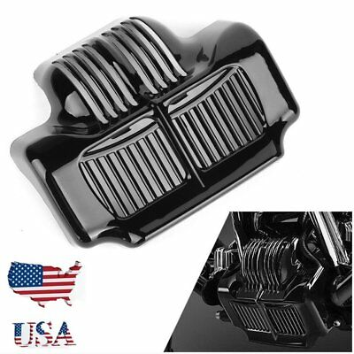 Chrome Stock Oil Cooler Cover for Harley Touring Electra Road Street Glide UU