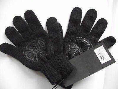 Independent Trucks & Co Hand Gloves in Black Knitted Wool Warm  ADULT Skateboard