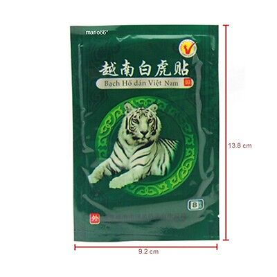 8 Plasters Tiger Balm Patch. Pain Relief Muscle Back Pain Athritis