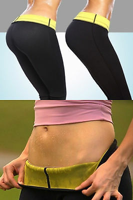 Slimming Sauna Pants Leggings Sports Fitness Gym Clothing For Women Ladies New
