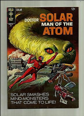 Doctor Solar Man Of The Atom #20 1966  Gold Key Silver Age Comics  Nice  Vf-