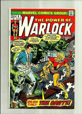 "Warlock #6 1973 Marvel Comics Bronze Age Comic Book  Reed Richards ""the Brute"""