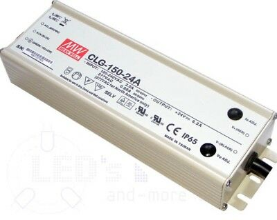 MeanWell CLG-150-24A 24V 6.3A 150w Power Supply LED Driver