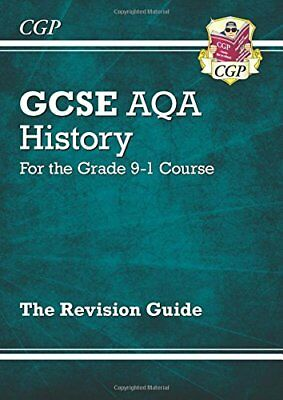New GCSE History AQA Revision Guide - for the Grade 9-1 Course,CGP Books