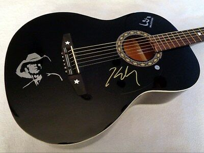 KENNY CHESNEY Autographed Signed Acoustic Guitar w/ COA - NEW, NO RESERVE!