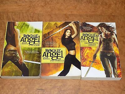 Lot of 3 Rogue Angel books by Alex Archer - paperback