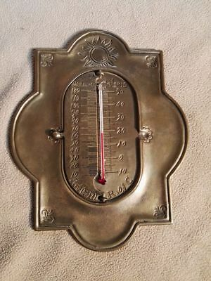 Messing Thermometer Reaumur Celsius Fahrenheit Klappthermometer