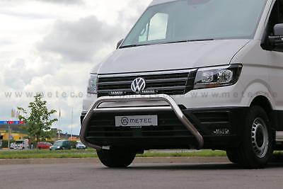Vw Crafter 2017 Protection, Pare Buffle En Inox Poli Main Homologue, Diam 70