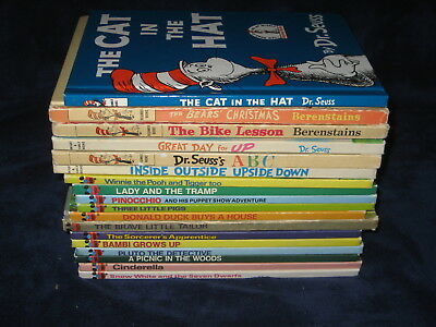 Vintage Lot of 12 Disney Wonderful World Of Reading Children's Books Plus MORE