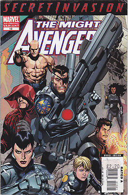 Secret Invasion: The Mighty Avenger Issue 13 (Comic, 2008)