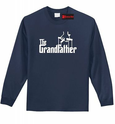 The Grandfather Long S T Shirt Funny Movie Parody Godfather Grandpa Gift Tee Z1
