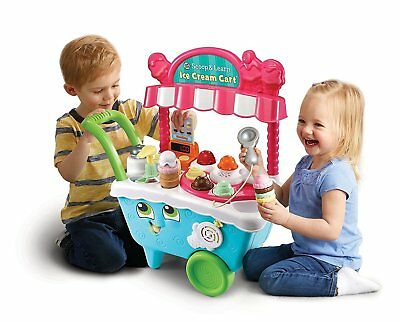 Scoop LeapFrog Cart 20 Playing Pieces And Learn Ice Cream brand new