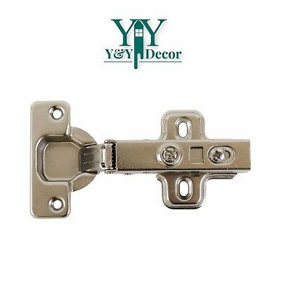 Cabinet Door Hinge Euro 110 Full Overlay Clip On Hinges