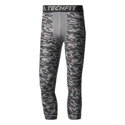 Adidas Techfit Chill 3 4 Print Mallas