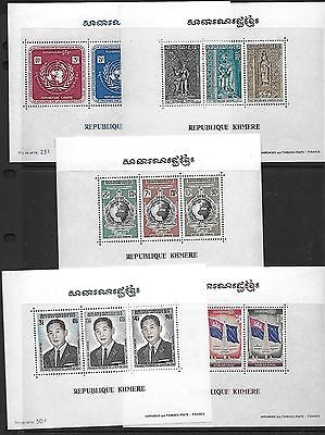 Cambodia Korea Bhutan Nepal 1960-1980 Collection Of Honduras Almost All Mint