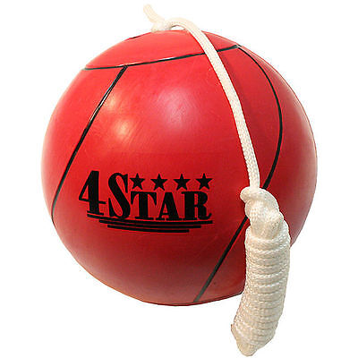 Defender Red Size 7 Professional Design Playground or Backyard Tether Ball