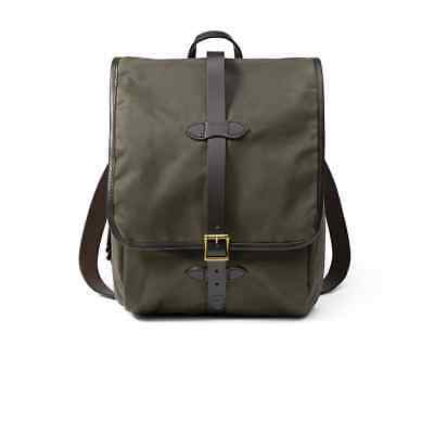Filson Hiking Daypacks Tin Cloth Backpack Otter Green , One Size 70017