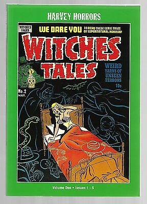 Ps Artbooks Witches Tales Vol. 1 One Harvey Horrors Trade Paperback